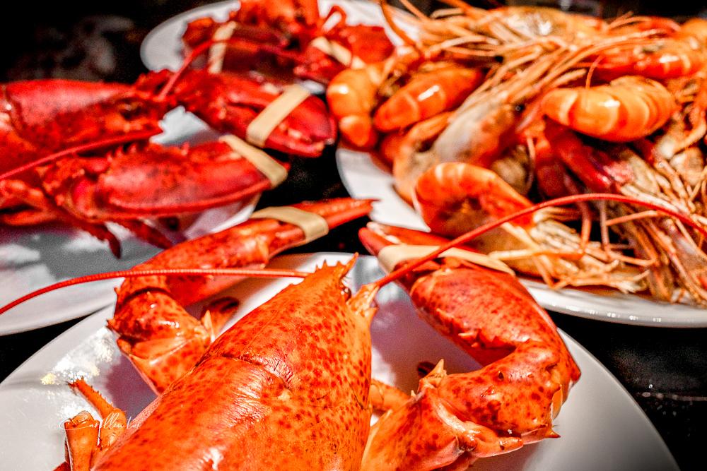 君品酒店 | 極致雙蝦對決!限時外帶優惠活動,加拿大活龍蝦,烤泰國蝦,6吋繽紛派