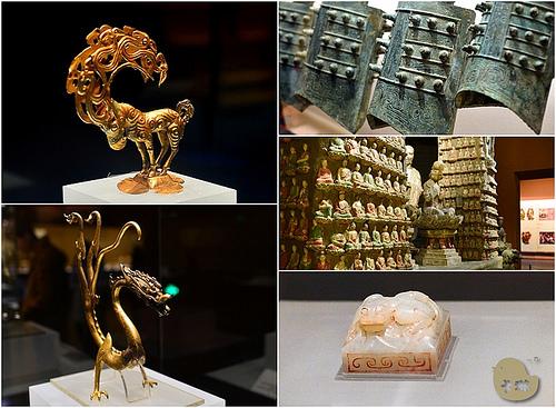 西安旅遊|必去景點《陝西歷史博物館》中國華夏文物寶庫