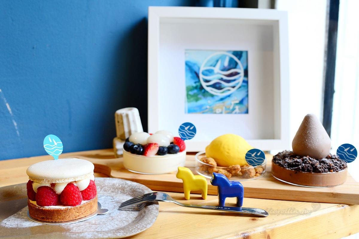 【美食】台北。大安區《河床工作室 Pâtisserie Rivière》信義安和預約制下午茶 可愛造型 創意甜點