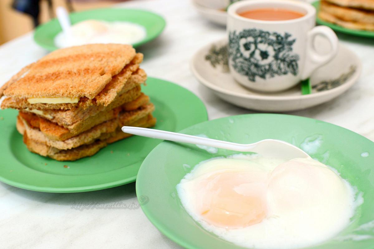 新加坡美食|牛車水《亞坤總店 Ya Kun Kaya Toast》咖椰吐司 必吃南洋傳統早餐店