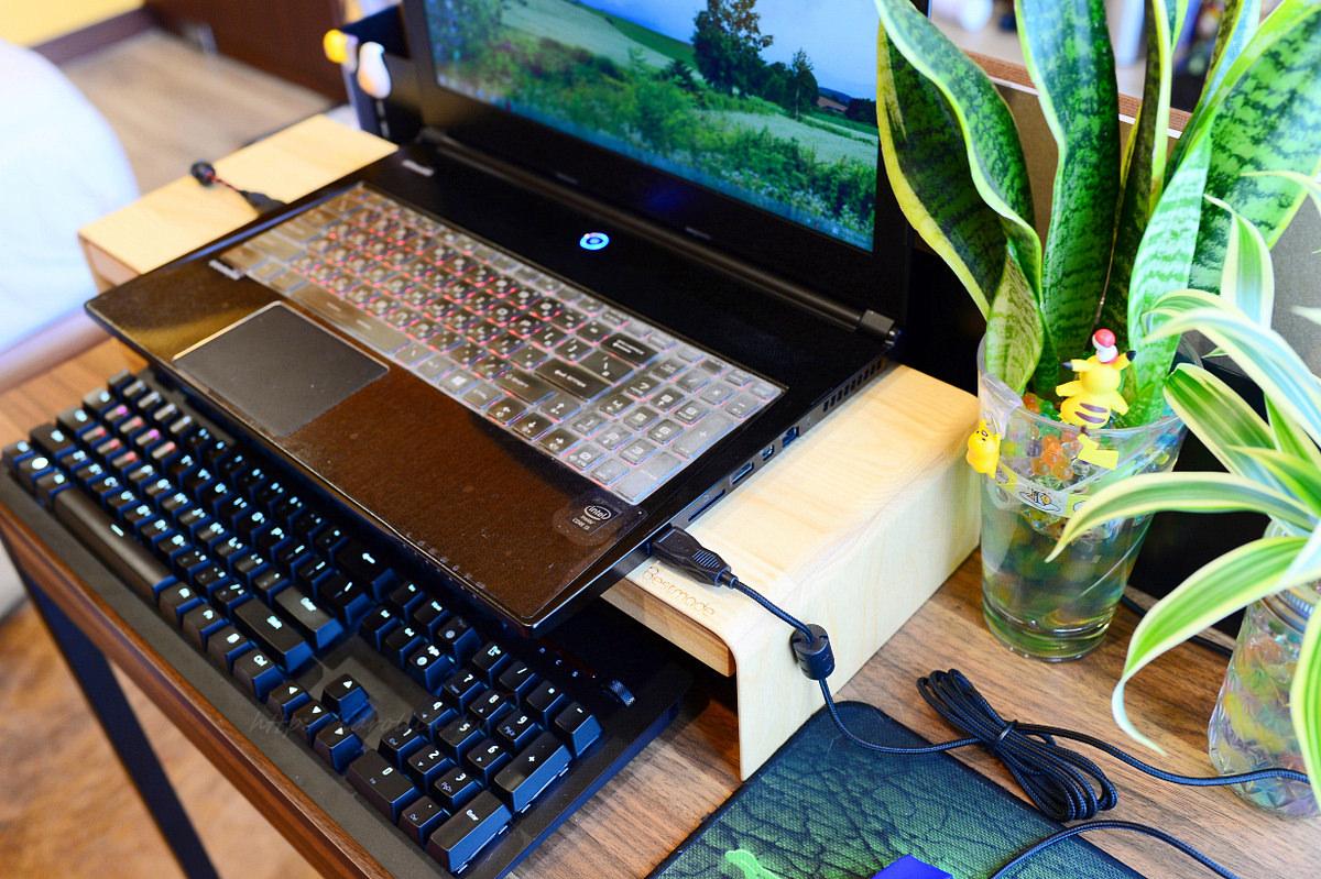 【開箱】桌面收納《BESTMADE STAND 2:天然原木螢幕架。薄型抽屜》人體工學電腦周邊好物推薦