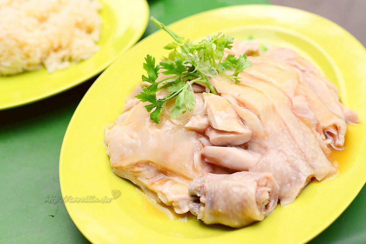 新加坡美食|牛車水《天天海南雞飯》麥士威熟食中心 旅遊必吃小吃