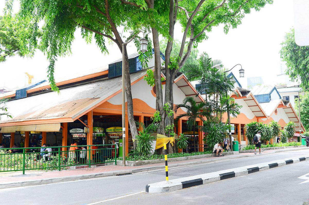 新加坡麥士威熟食中心