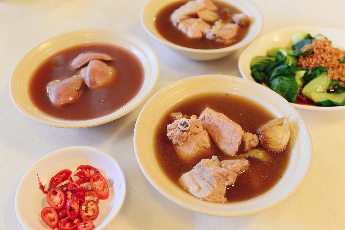 新加坡美食|旅遊必吃《黃亞細肉骨茶餐室》潮州風味小吃推薦