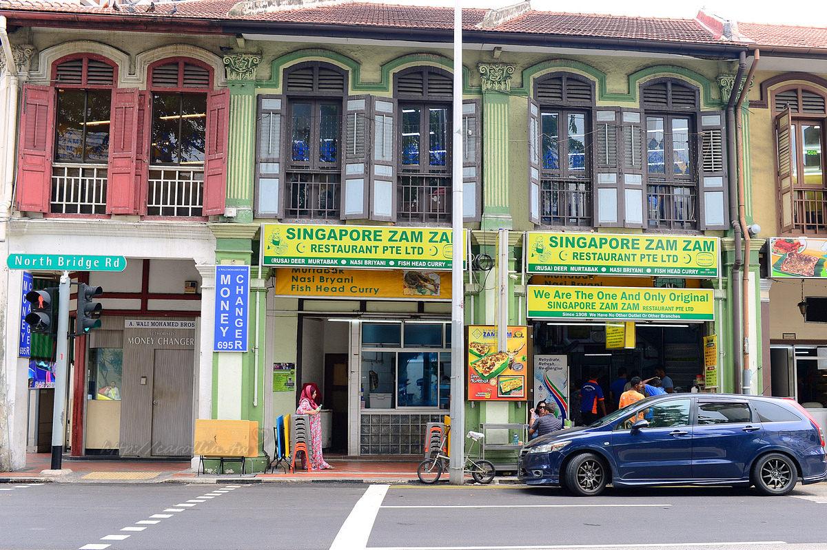 新加坡 ZamZam 印度美食