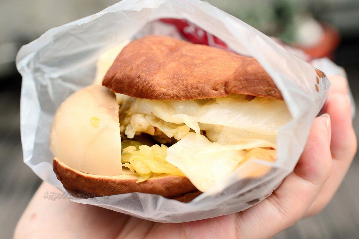 台南美食|新化老街《所長茶葉蛋》好吃豆干堡 多汁香Q茶葉蛋