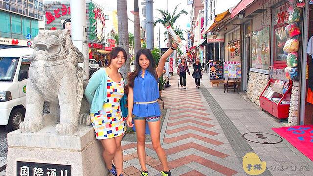 沖繩旅遊購物景點   那霸《国際通り Kokusai doori》特色土產購物必逛街