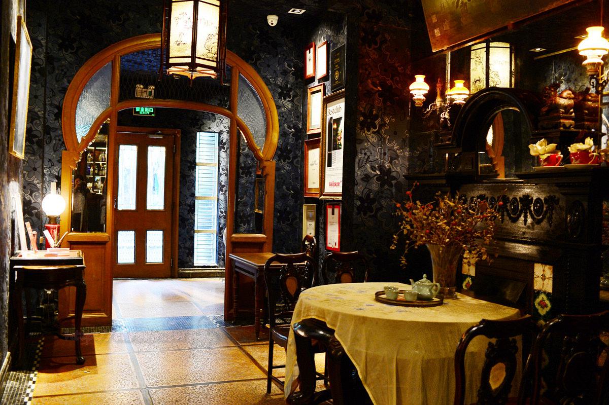 【美食】上海自由行。徐匯區《雍福會》米其林二星餐廳 英國領事館舊址
