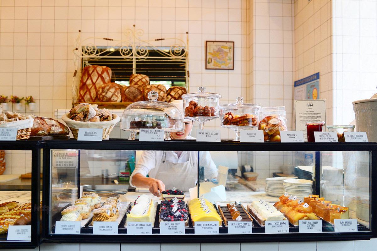 上海自由行 美食|徐匯區《Farine》道地法式甜點麵包烘焙坊 必吃下午茶推薦