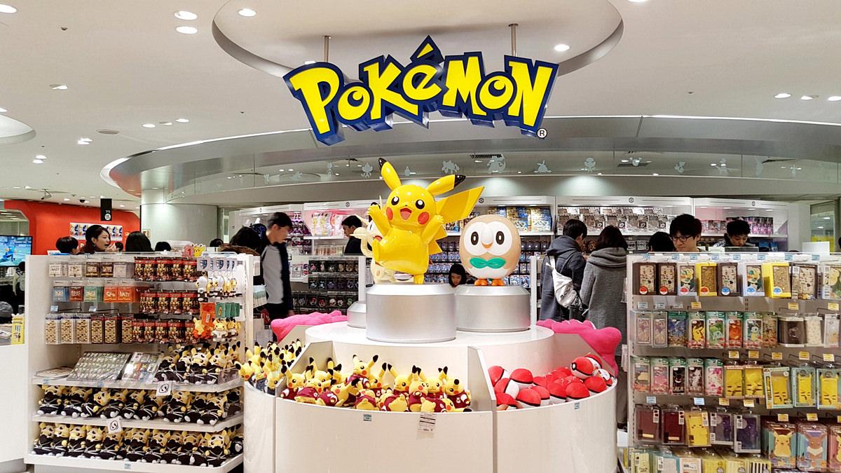 大阪旅遊購物景點|梅田車站《Pokemon Center》神奇寶貝專賣店 梅田駅大丸百貨收服寶可夢!