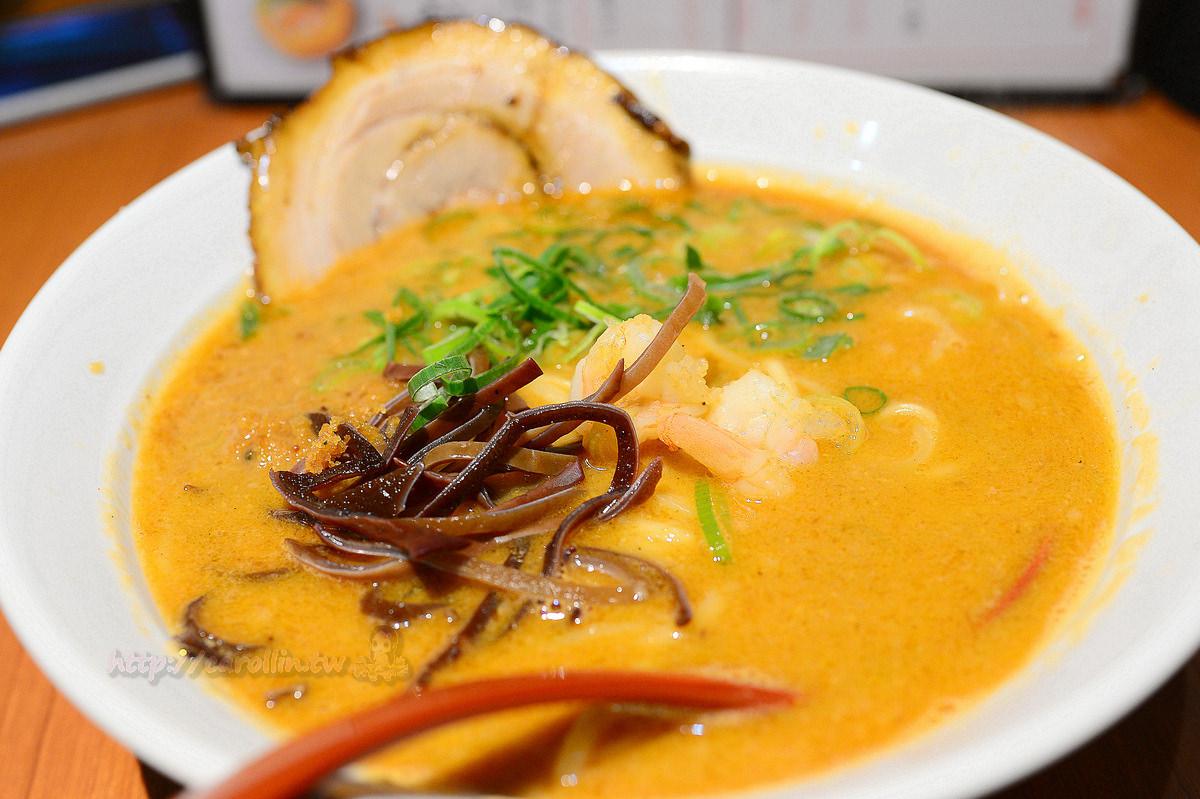 【美食】京都自由行。木屋町三条《面屋吉匠丸》濃厚鮮蝦豚骨湯頭的好吃拉麵 烏龍麵