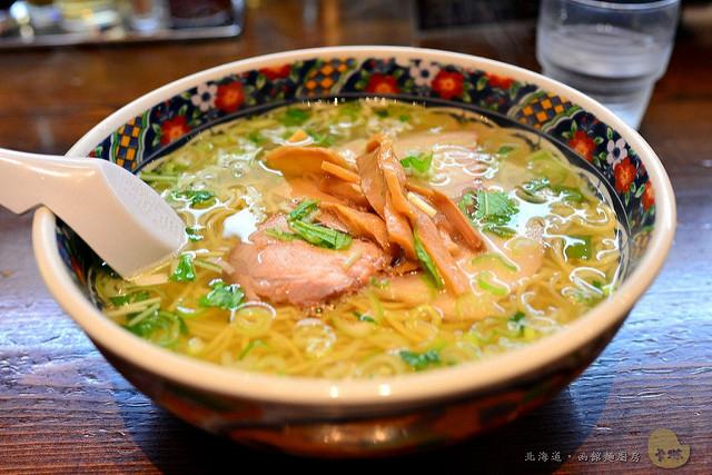 北海道美食|旅遊必吃《函館麺厨房あじさい》味彩鹽拉麵 人氣排隊店