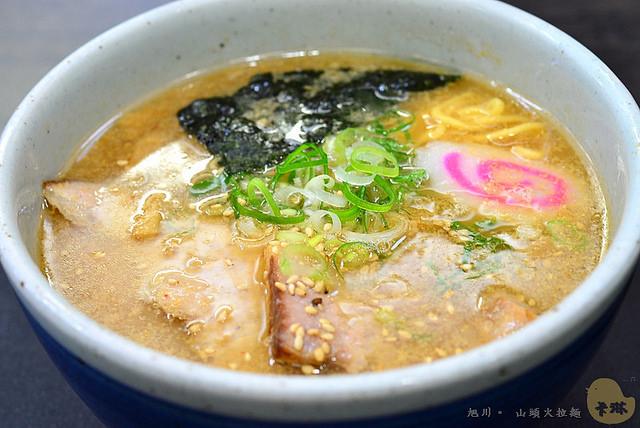 【美食】北海道自由行。《山頭火拉麵 Santouka》旭川本店