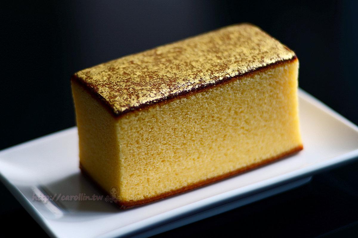 高山北陸美食|金澤《烏雞庵 金箔蜂蜜蛋糕》必買土產 奢華伴手禮