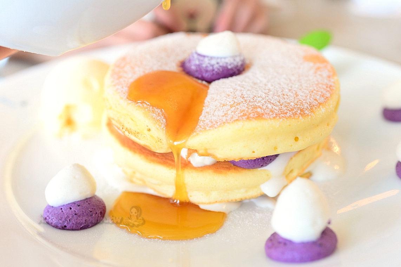 沖繩美食|北谷美國村《Seaside cafe Hanon》夢幻鬆餅 海景咖啡館推薦