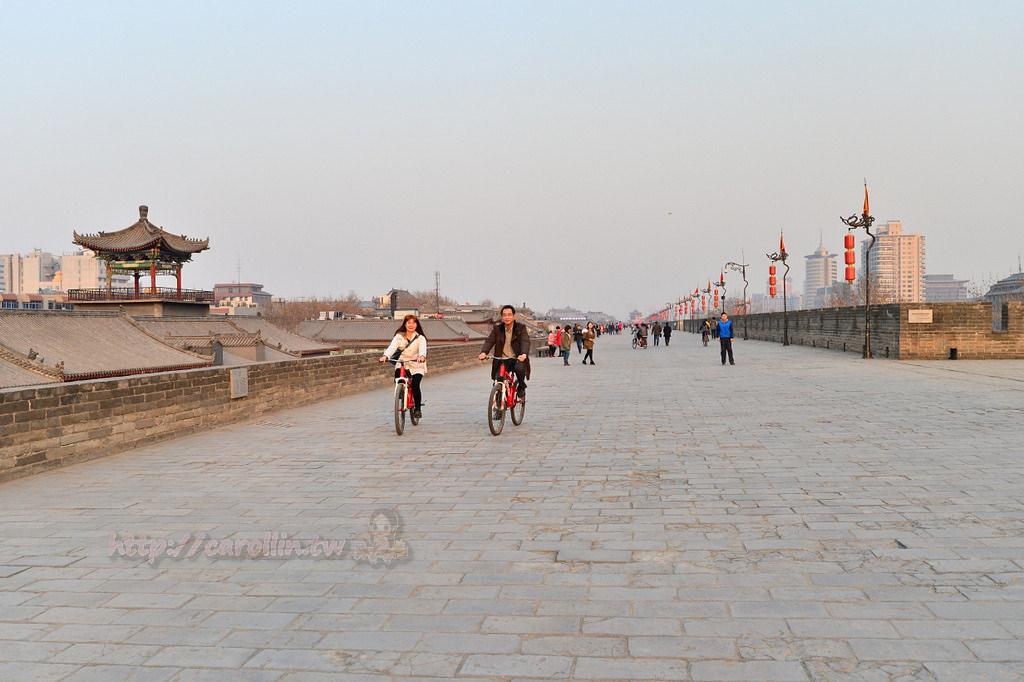 西安旅遊|必去景點《西安古城牆》騎單車環遊 老長安的歷史風華