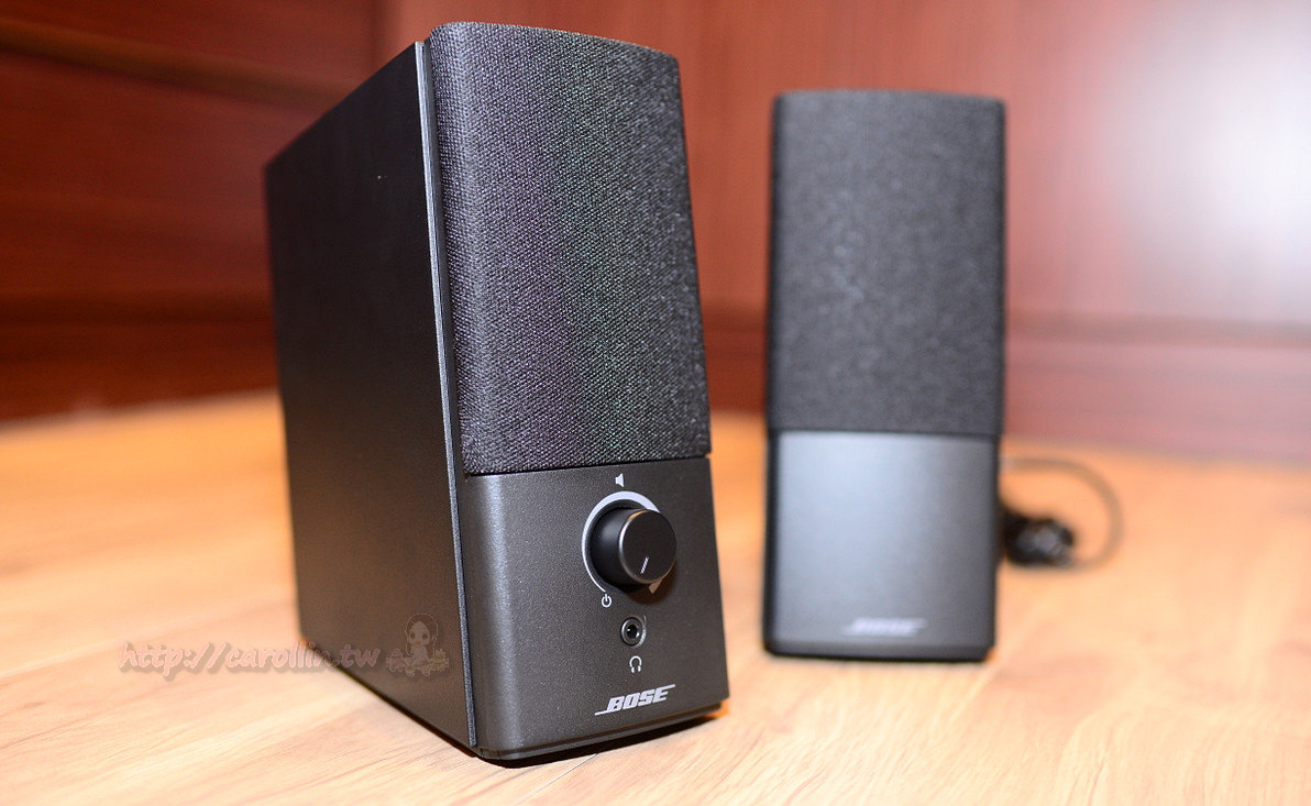 【3C產品開箱】BOSE 電腦喇叭《Companion 2 III 多媒體揚聲器系統》平價入門款 宏亮飽滿的小不點