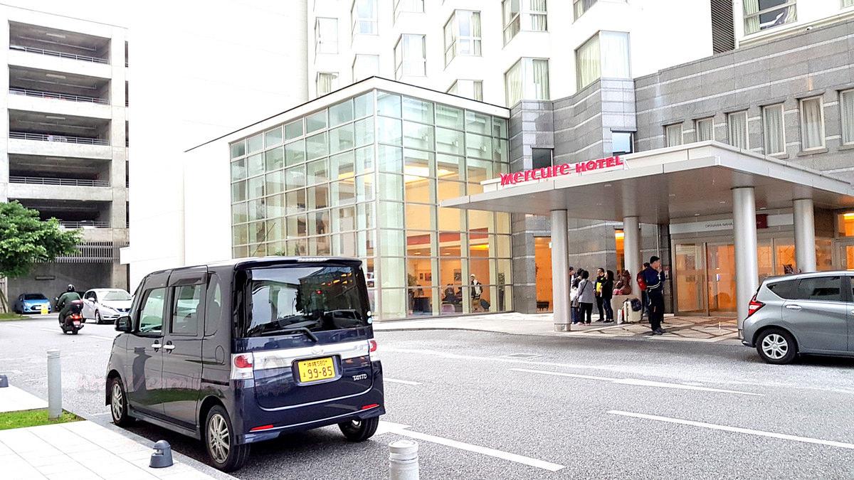 【住宿】沖繩自由行。那霸《Mercure Okinawa Naha》輕軌壺川站前 x OTS 租車 交通便利飯店推薦
