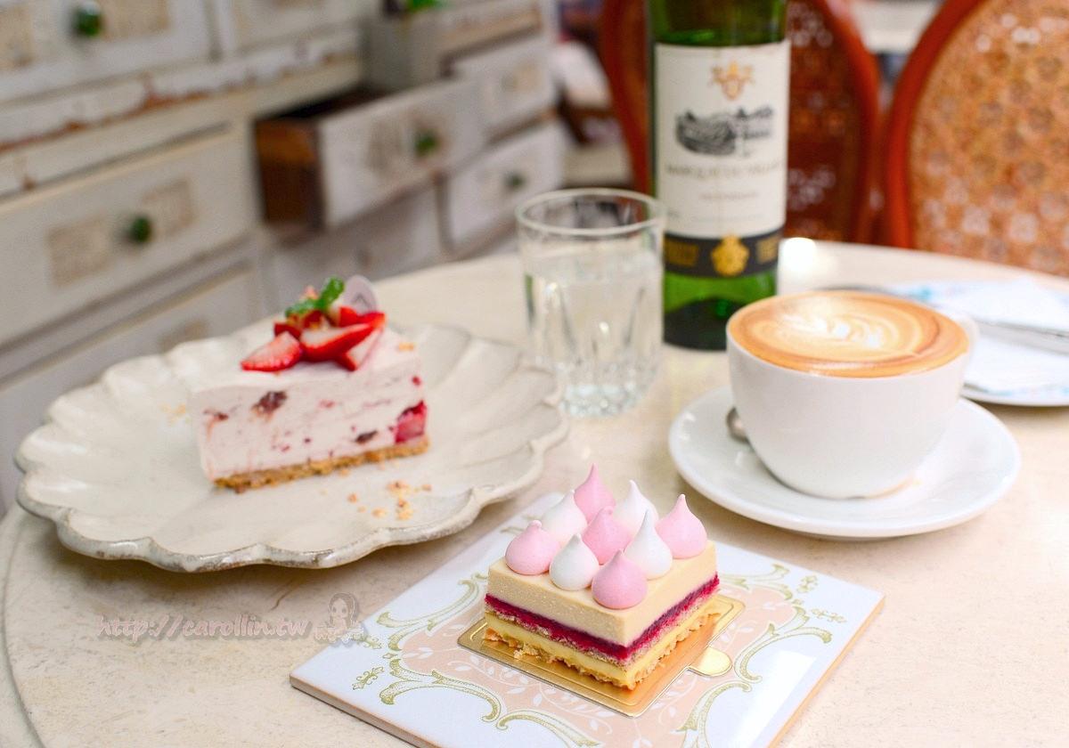 新北美食|板橋《Merci Créme》隱藏版老宅咖啡館 法式甜點下午茶