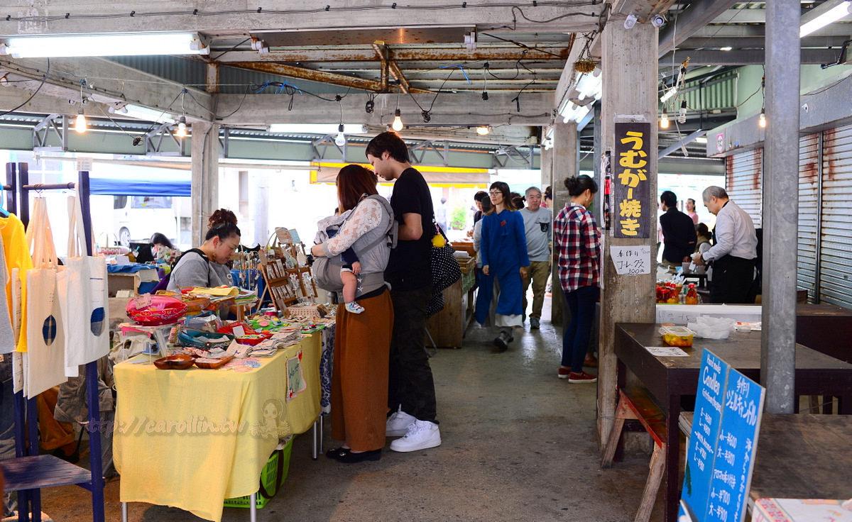 沖繩旅遊購物景點 本部町《Motobu 手工市集》日本文青最愛 每月一次的市場文創活動