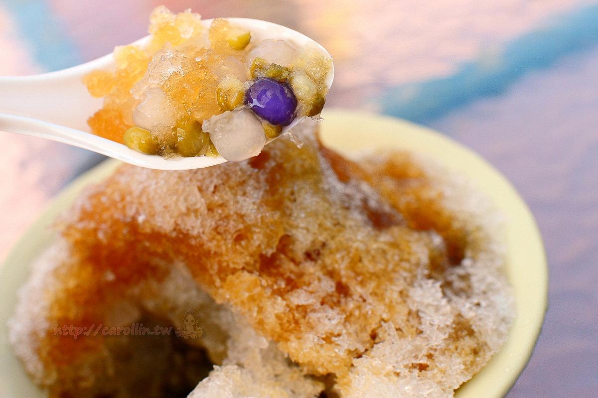 桃園美食|龍潭 三坑子老街《雜貨店 黑糖剉冰 x 傳統豆花》柑仔店裡的人氣冰品