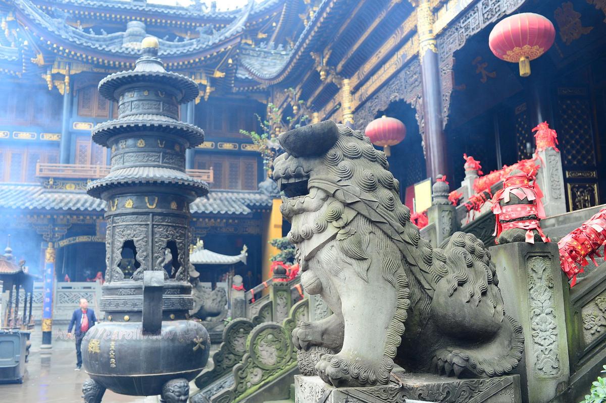 四川旅遊景點|重慶《羅漢寺》千年古剎 電影瘋狂的石頭拍攝地