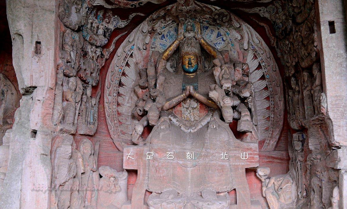 四川旅遊景點|重慶《大足石刻 北山摩崖石刻》千年石窟 世界文化遺產