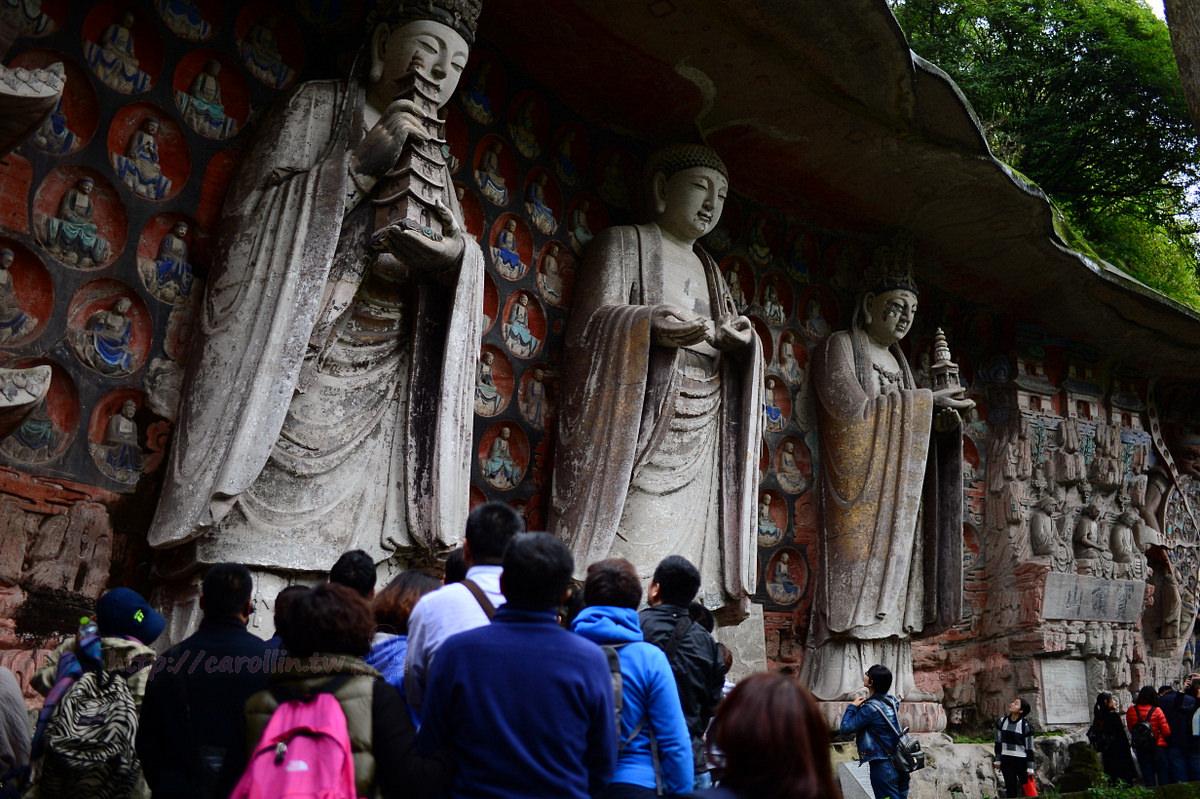 四川旅遊景點|重慶《大足石刻 寶頂山石刻》千年石窟 世界文化遺產