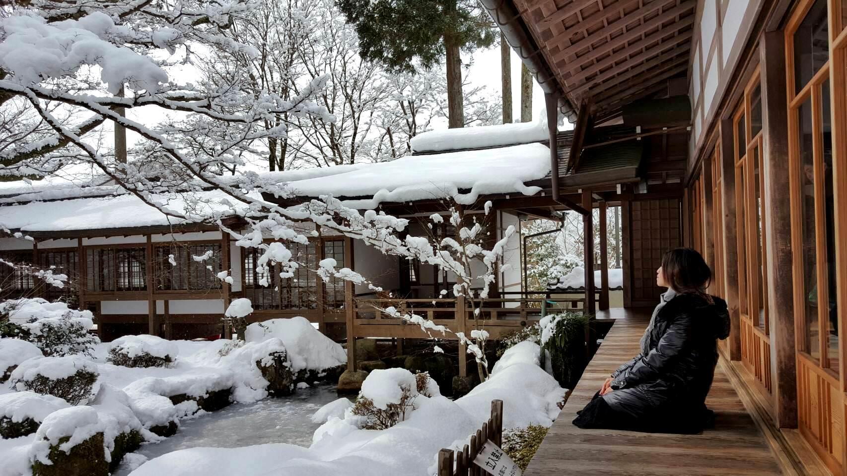 京都自由行 旅遊景點 | 大原《三千院》冬季賞雪 賞楓賞苔賞花也很推薦 (大眾運輸交通指南)