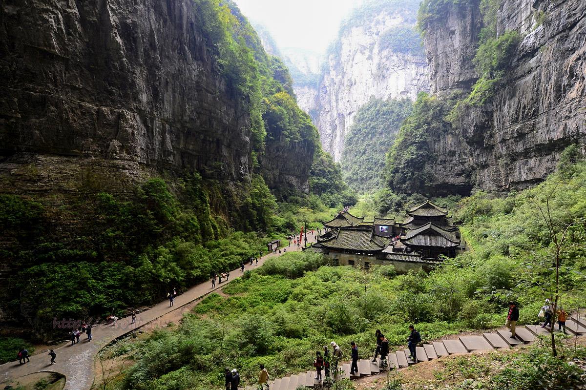 四川旅遊景點 | 重慶 武隆《天坑三橋》變形金剛 黃金甲 電影拍攝取景