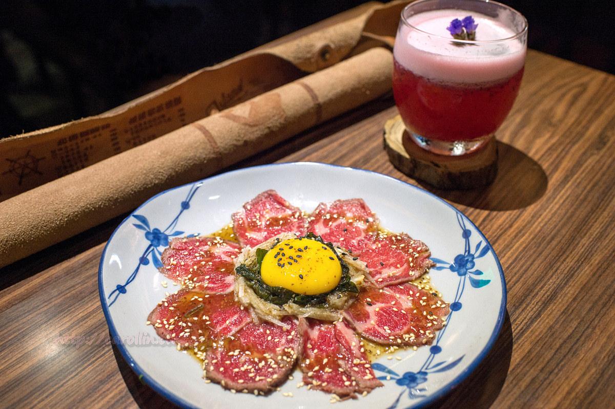 台北美食 | 中山區 行天宮《你回來了型男食堂》調酒 日式炸物串燒 小鮮肉居酒屋