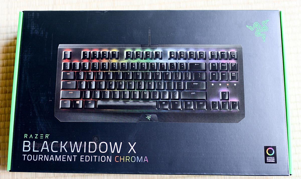 3c Razer Blackwidow X Chroma 87 Keyboard Te Xlogochroma1680