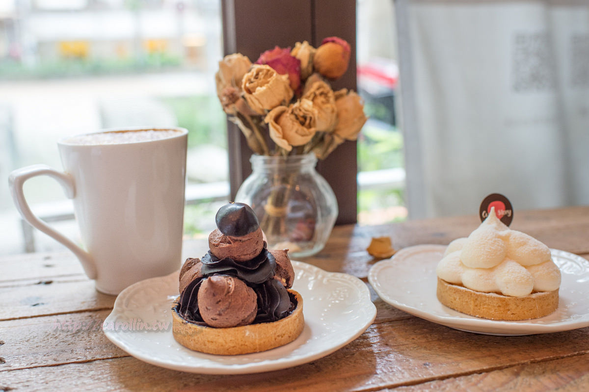 台北美食 | 士林區《Cup`o Story 手作塔皮點心》捷運下的童話甜點咖啡店