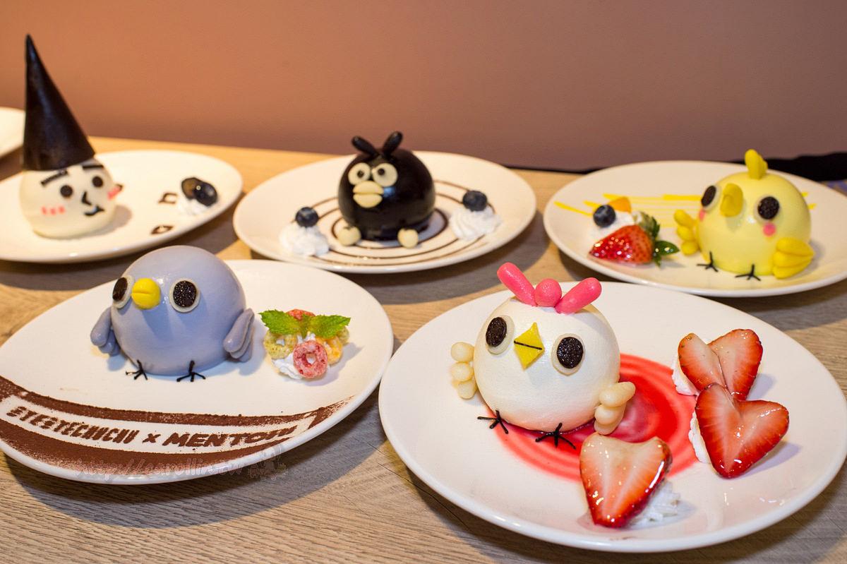 台北美食|萬華區 西門町《掰掰啾啾 x 懶得鳥你 x 頑食Café》人氣貼圖聯名主題餐廳