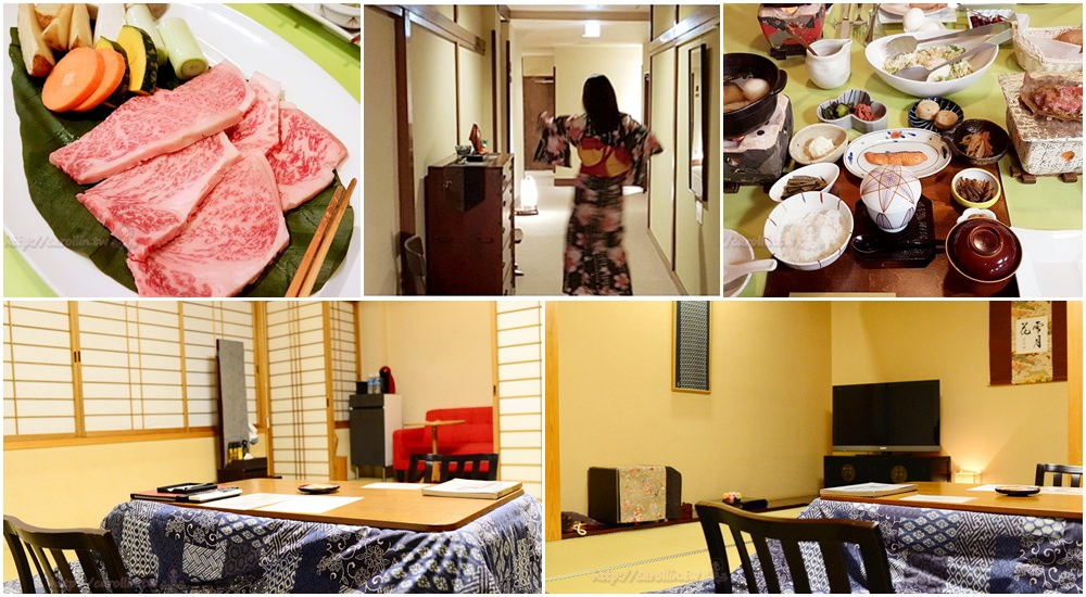 高山北陸 | 車站周圍住宿推薦《Oyado古都之夢》日式溫泉旅館 一泊兩食吃飛驒牛燒肉