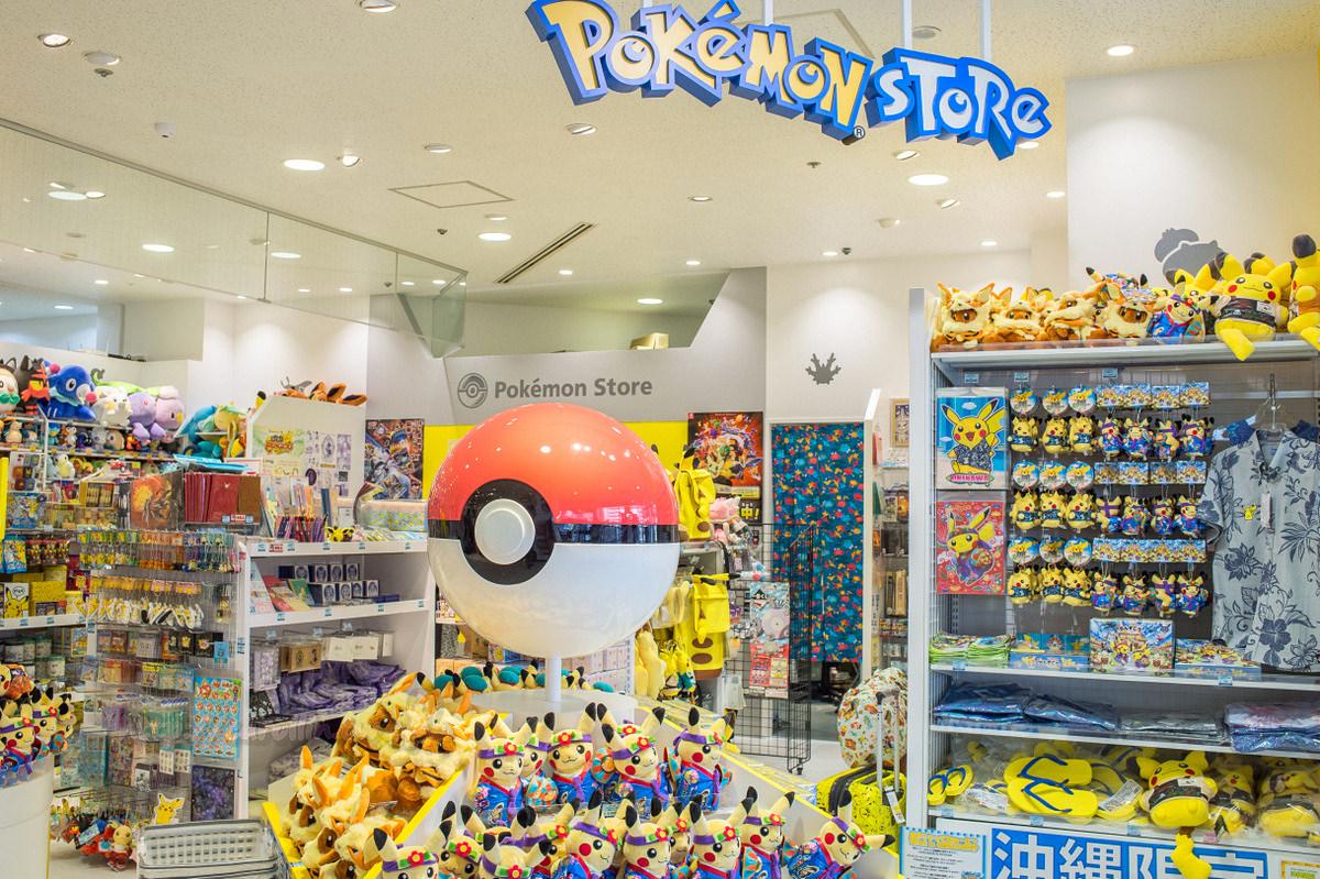 沖繩旅遊購物景點 | 那霸國際通《Pokemon Store》神奇寶貝專賣店 縣廳前RYUBO百貨