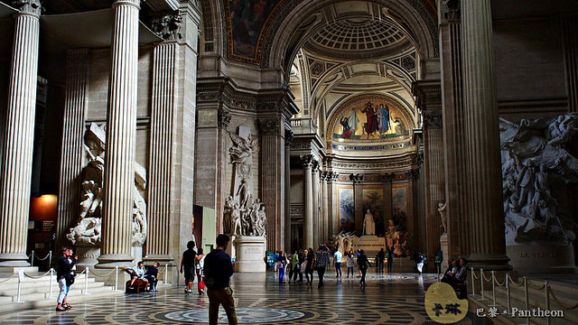 【旅遊】法國自由行。巴黎《萬神殿 Panthéon》法國先賢長眠之所