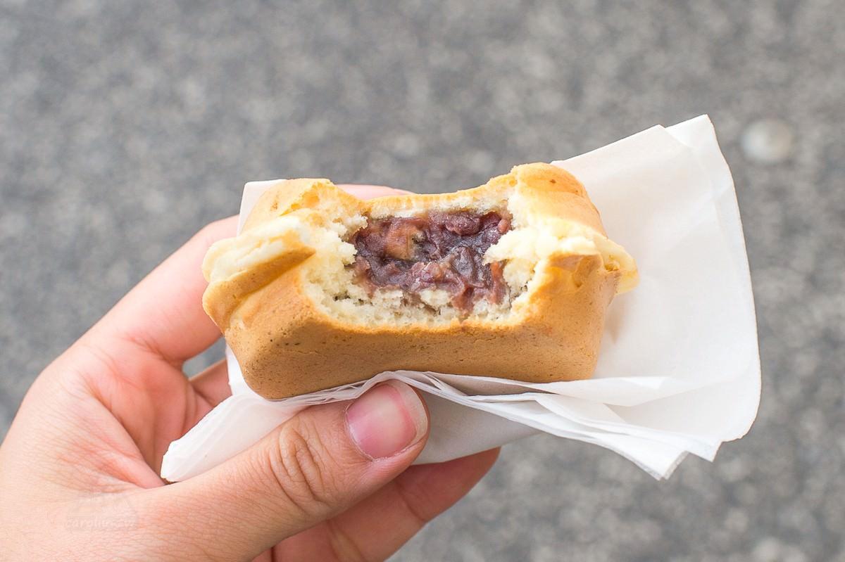 岡山美食   倉敷美觀地區 えびす饅頭 – 好吃的紅豆餅