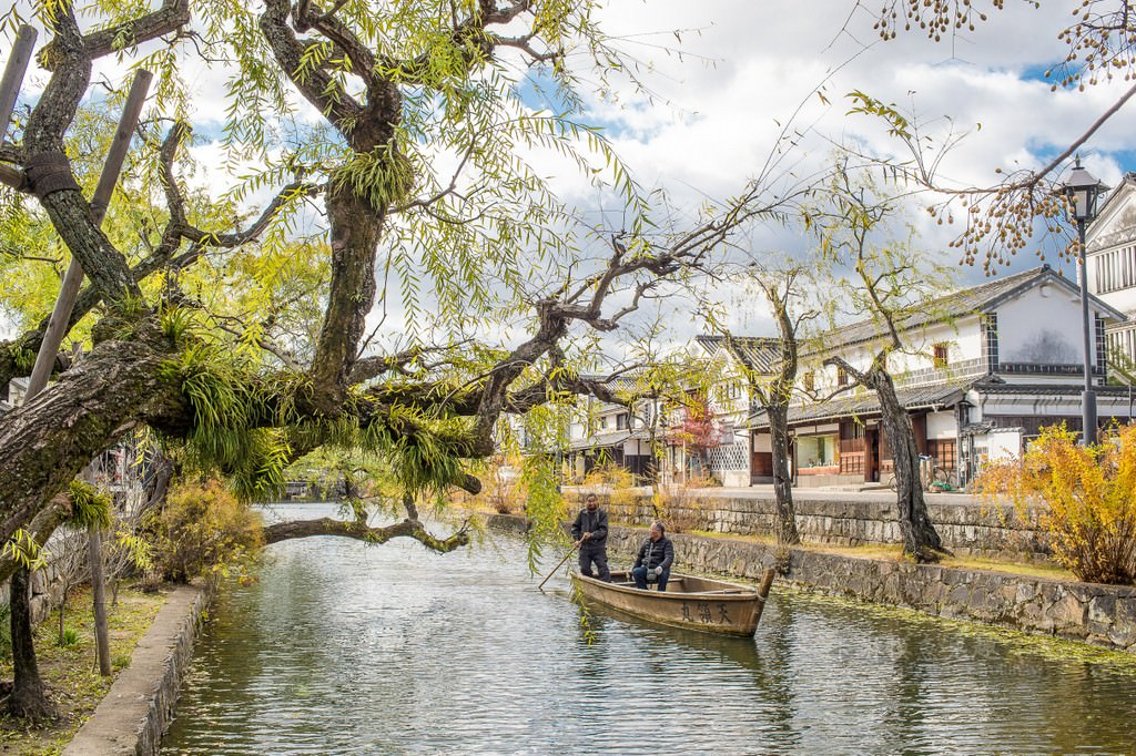 岡山旅遊景點 | 倉敷美觀地區 – 日本白壁和舊民宅林立的江戶街道