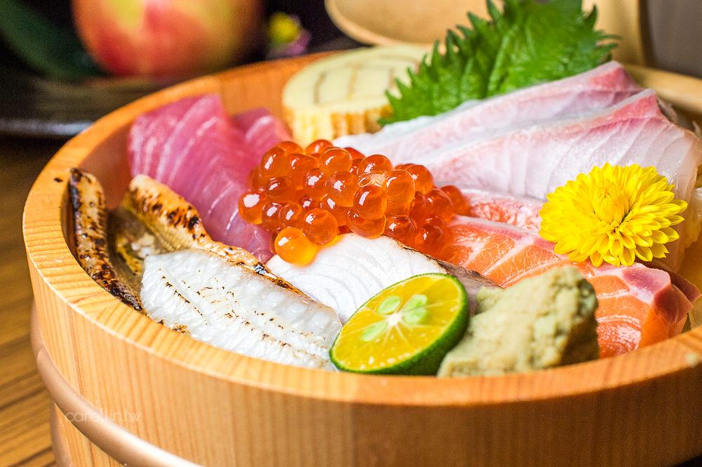 台北美食 | 大安區 三川食事屋 – 東區日本料理 澎湃生魚片海鮮丼飯
