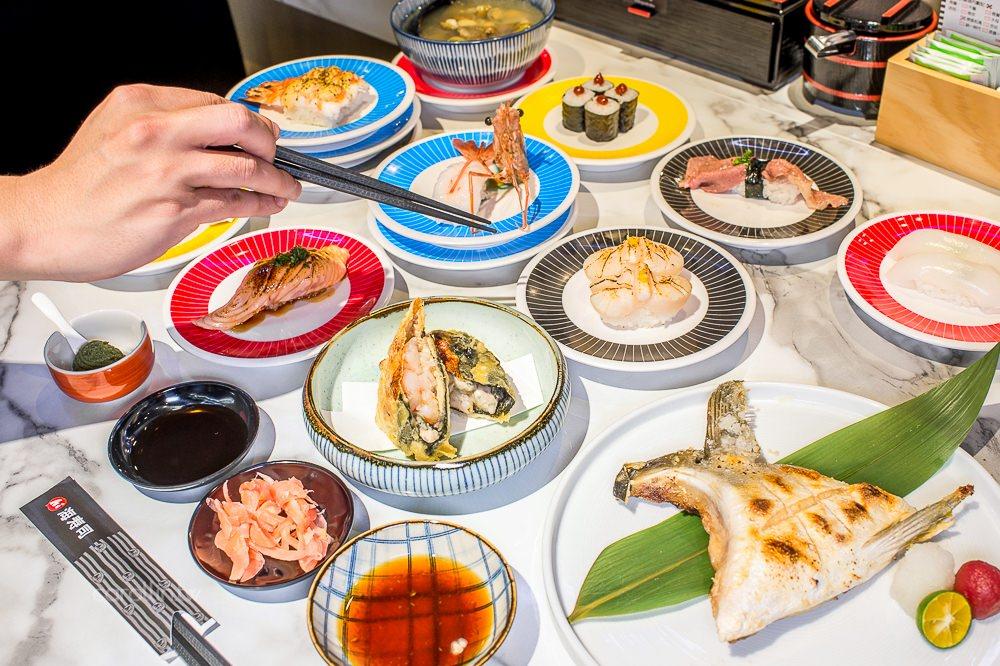 台北美食 | 信義區 海壽司 微風松高店 – 平價迴轉壽司