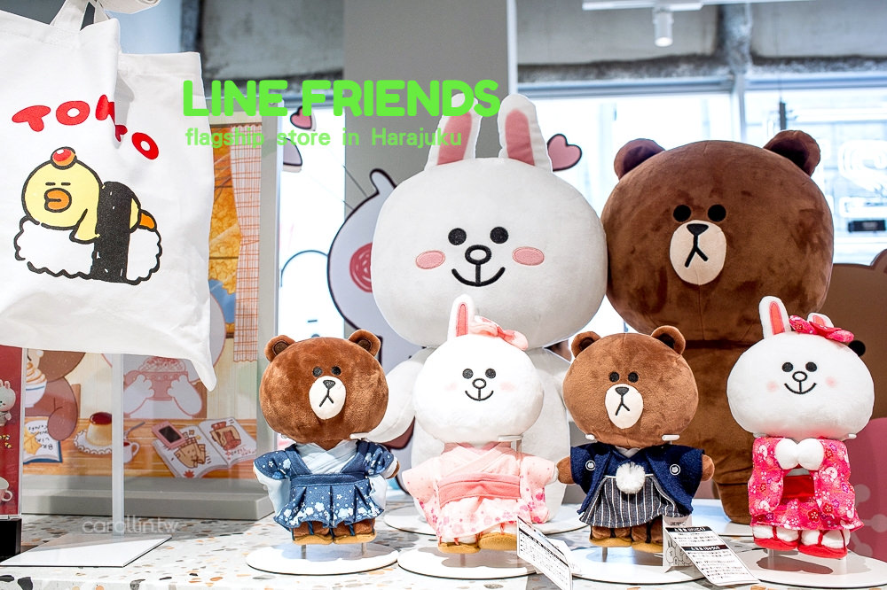 東京自由行 | 原宿 LINE FRIENDS STORE 旗艦店 – 適合拍照打卡的可愛購物景點