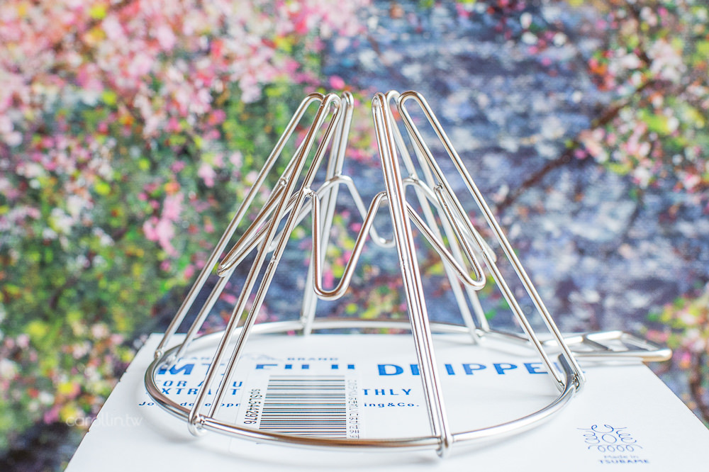 開箱 | MT.FUJI DRIPPER 富士山濾杯 – 日本手沖咖啡 不銹鋼絲器具
