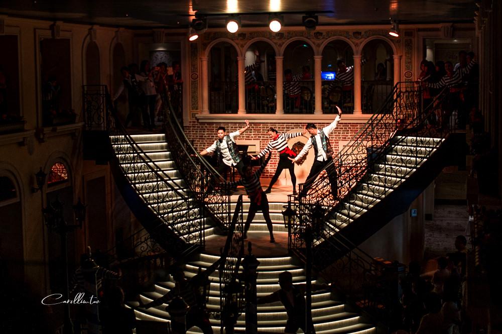 costa venezia 歌詩達郵輪威尼斯號 義大利歌舞表演
