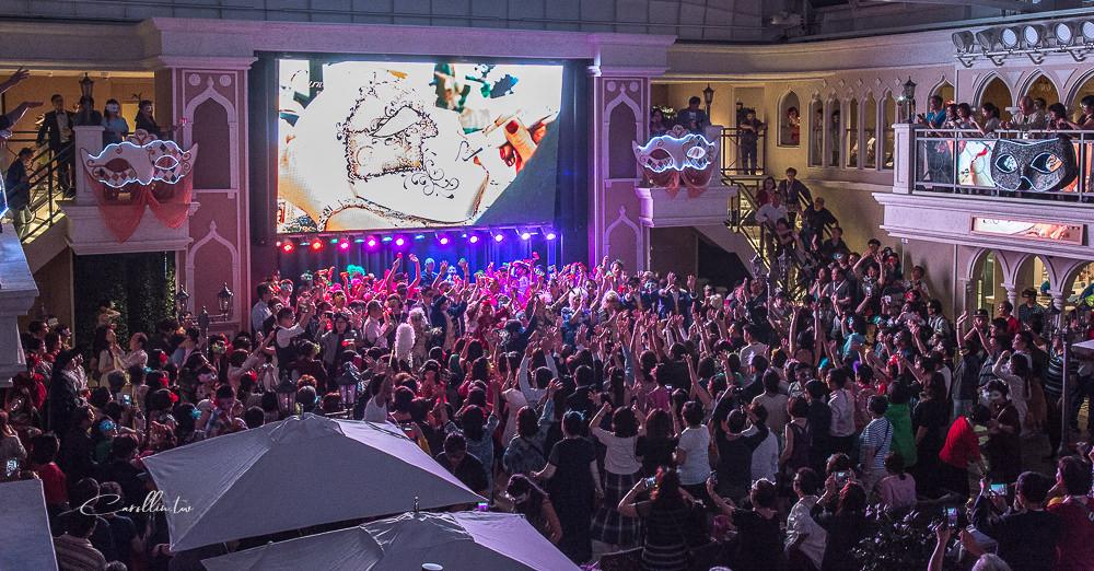 costa venezia 歌詩達郵輪威尼斯號 假面嘉年華舞會 義大利歌舞表演
