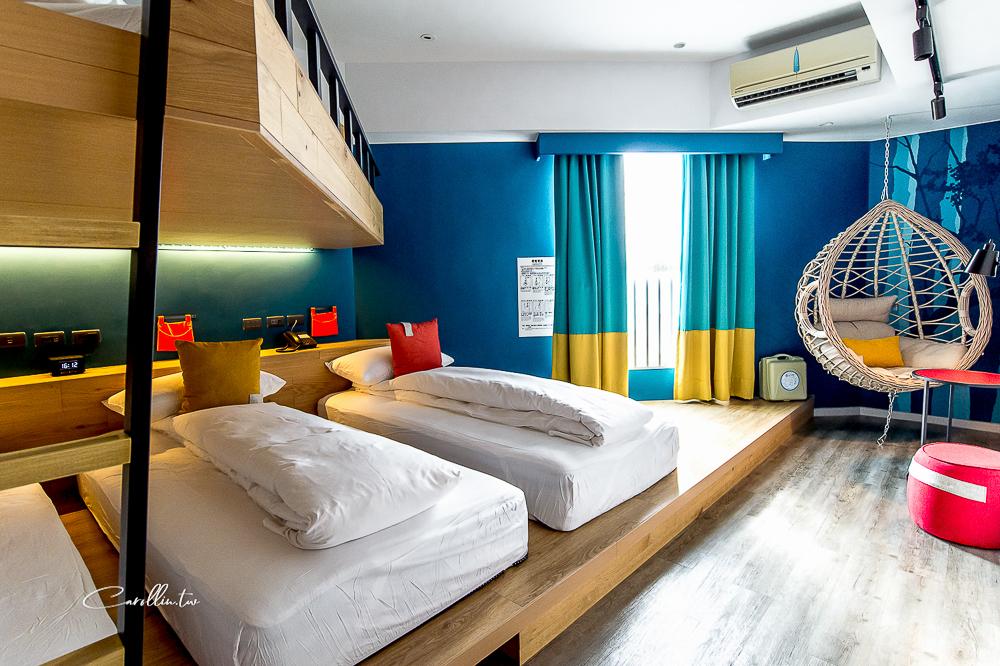 悅樂旅店 | 2020新開幕旅館!花蓮住宿推薦,雙人房,家庭房,背包客房,飯店房型實拍