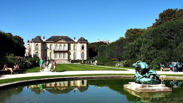 【旅遊】法國自由行。巴黎《羅丹美術館 Musée Rodin》庭園別墅雕塑展覽館