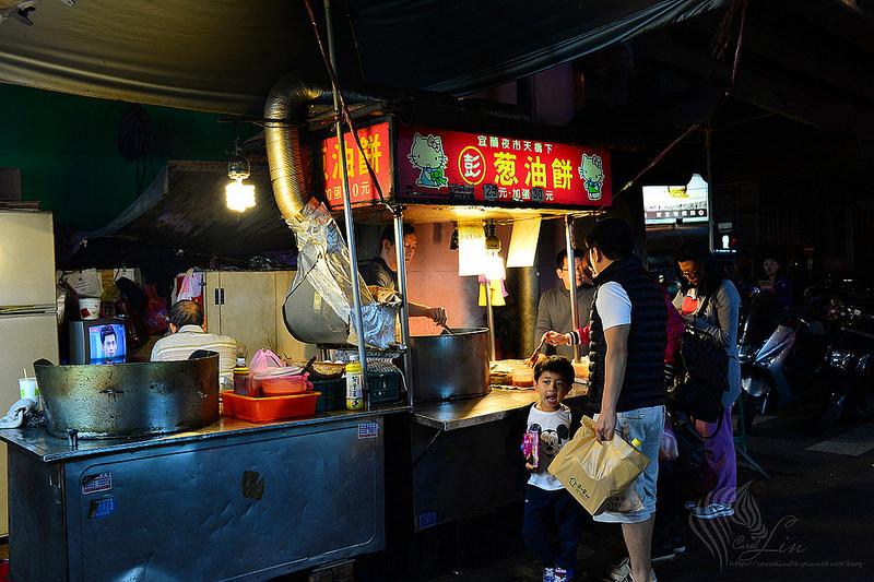 宜蘭美食 | 東門夜市《彭 蔥油餅》知名人氣必吃小吃推薦