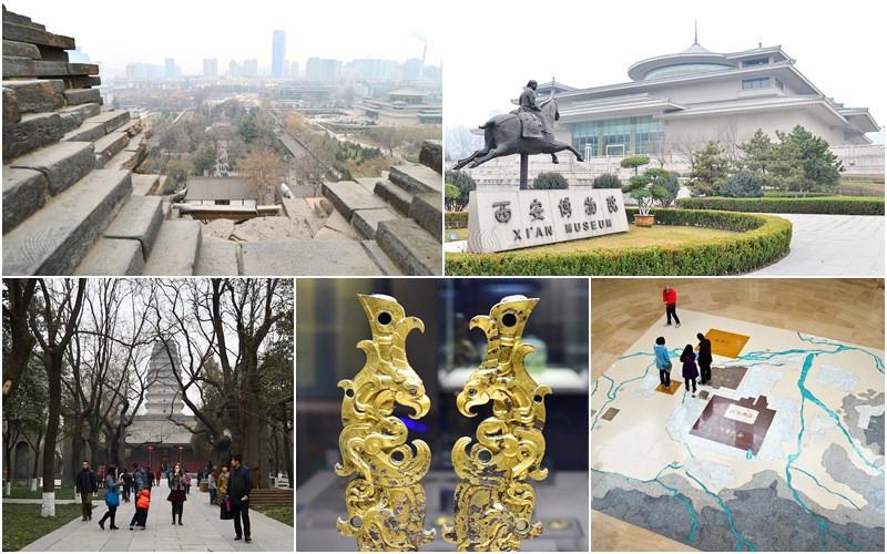 西安旅遊|必去景點《薦福寺小雁塔》《西安博物院》唐代關中八景 歷史文物展覽館