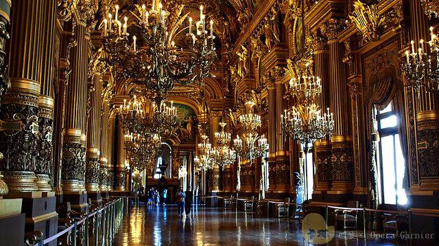 【旅遊】法國自由行。巴黎《加尼葉歌劇院 Opéra Garnier》歌劇魅影故事背景